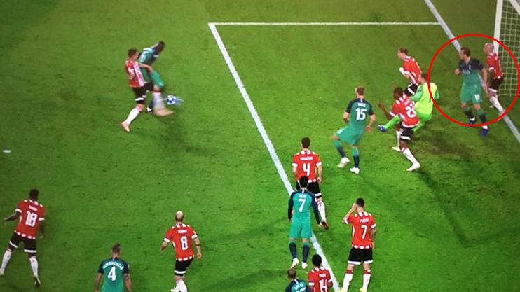 Spurs' disallowed goal against PSV was the most ridiculous