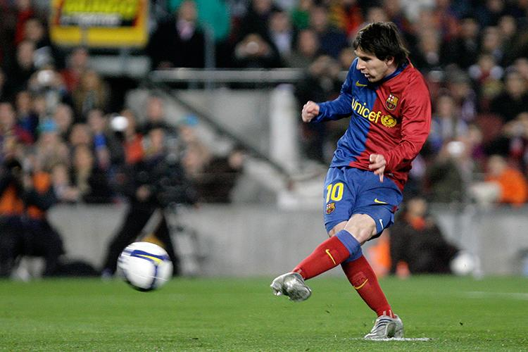 Messi always keeps a gobstopper handy
