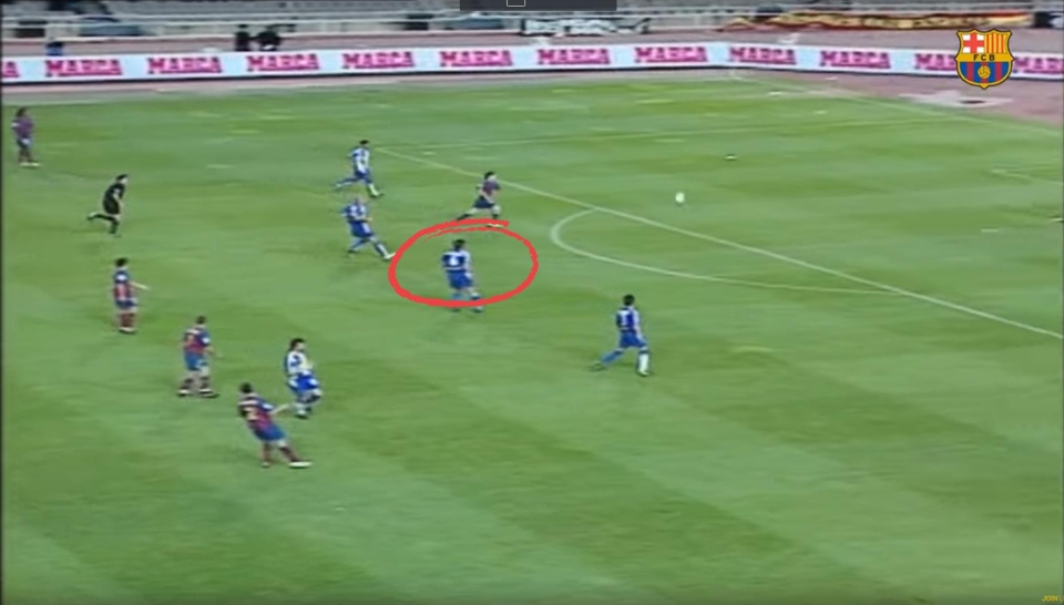 Playing a high-line against Messi isn't a good idea