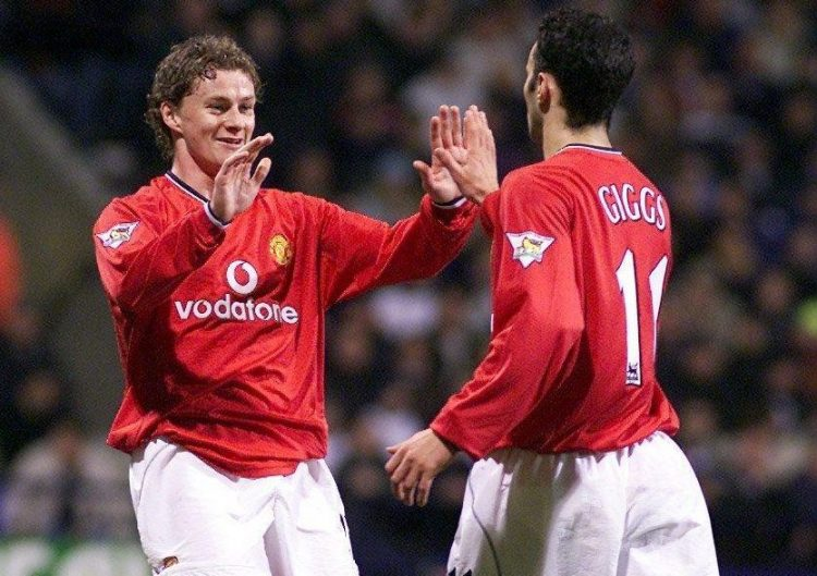 Giggs and the original Super-sub-Solskaer