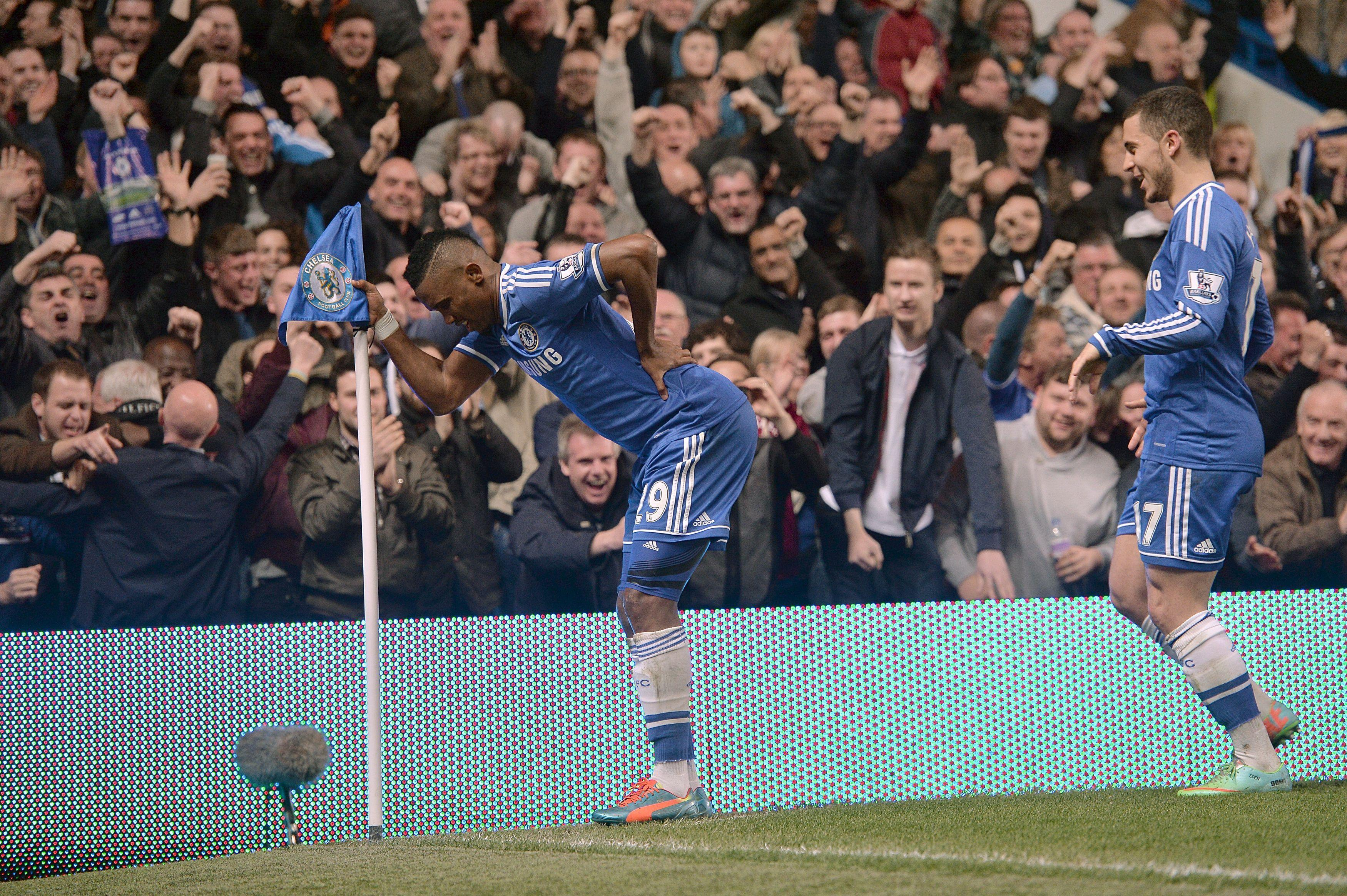 They signed Samuel Eto'o with a broken back