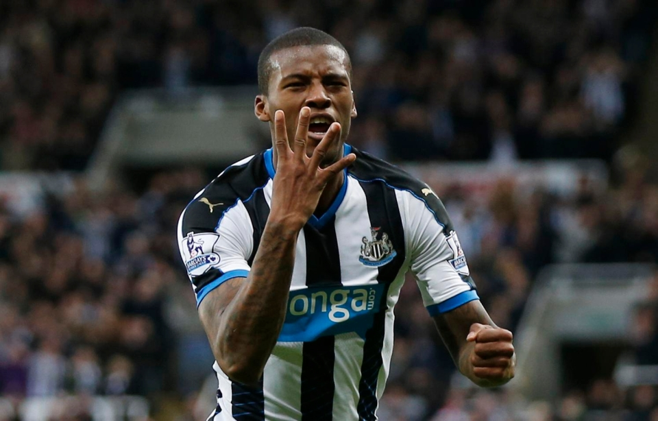 Wijnaldum proved to be a capable goal-scorer with the Magpies – even netting four-times in a match against Norwich