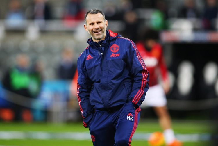 Give it Giggsy til the end of the season