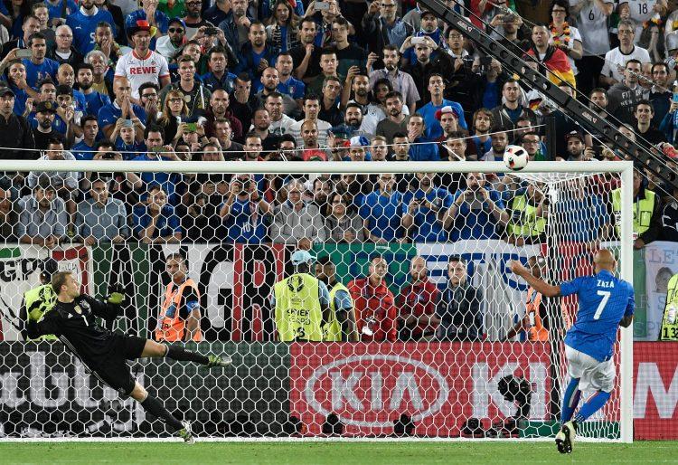 Iconic. Zaza's miss vs Germany at Euro 2016