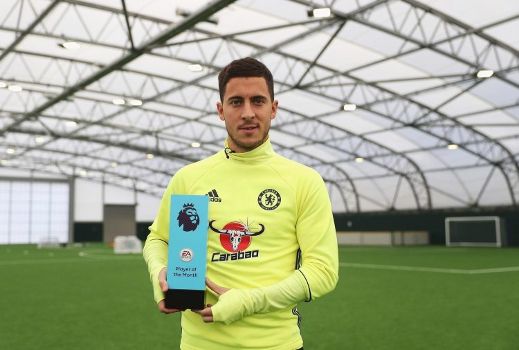 Eden Hazard is still one off Odemwingie…