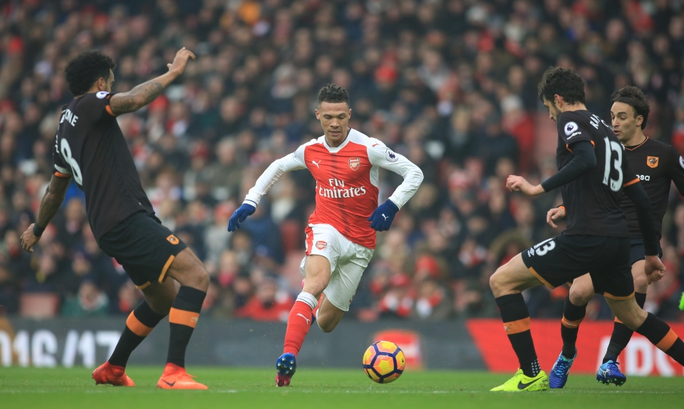 Gibbs never really made it at Arsenal, did he?