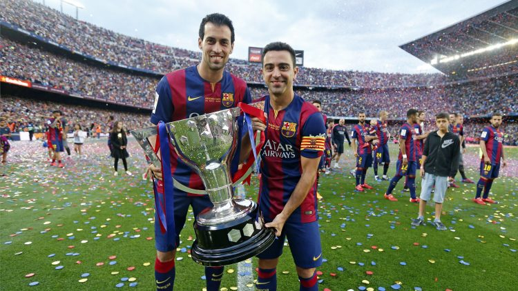 Two thirds of Barca's famous carousel