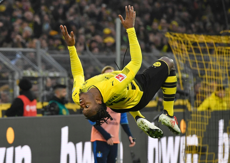 His career flipped around in the Bundesliga