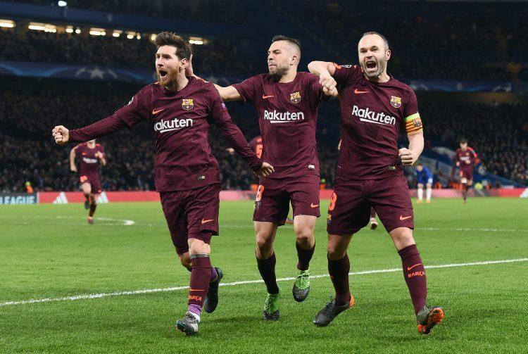 Messi left Chelsea feeling blue