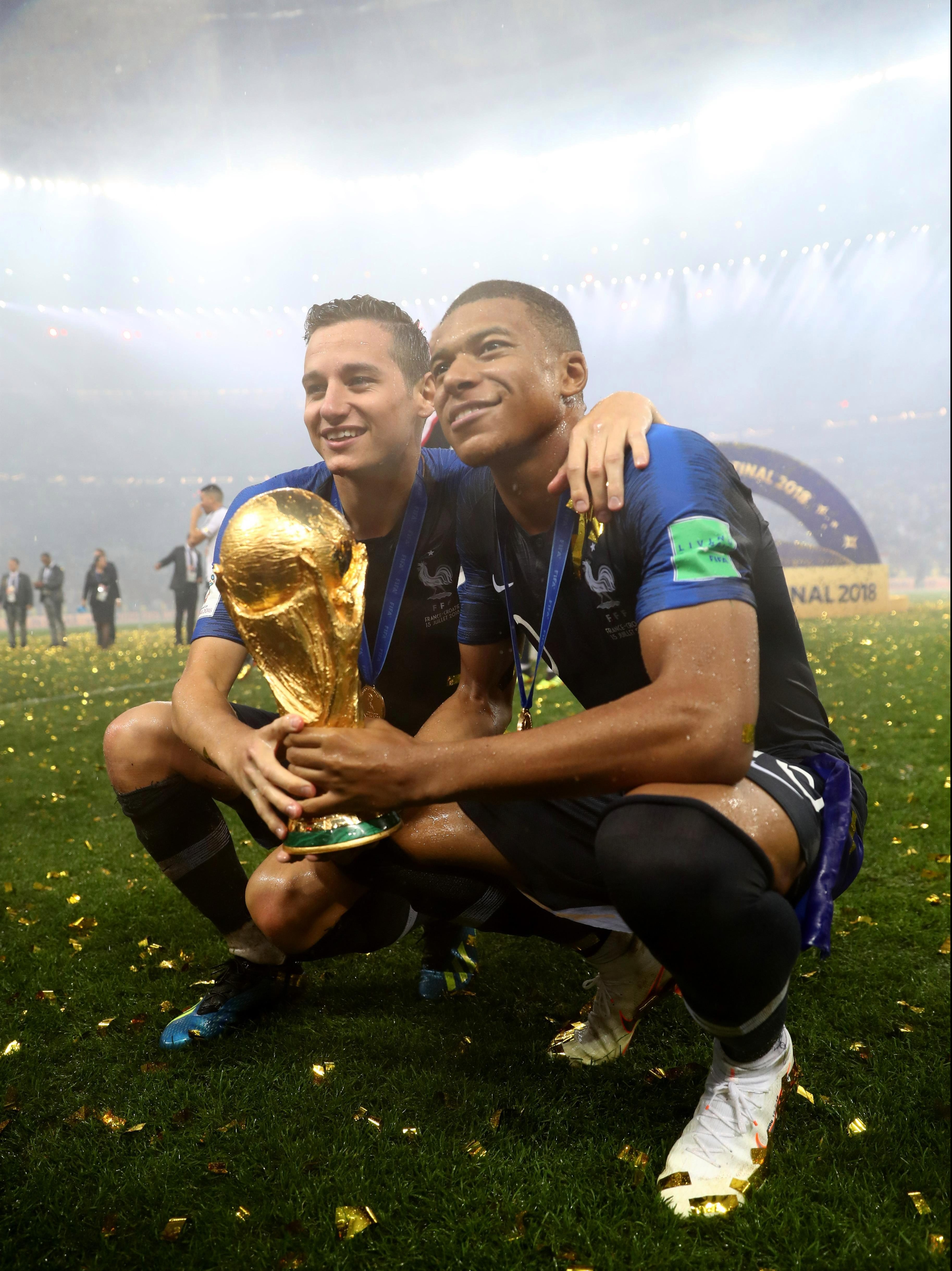 From drinking out of Sports Direct mugs to lifting the World Cup
