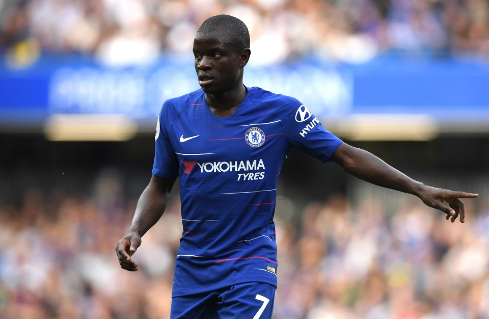 Just for clarification, I think Kante is the best in the world at what he does