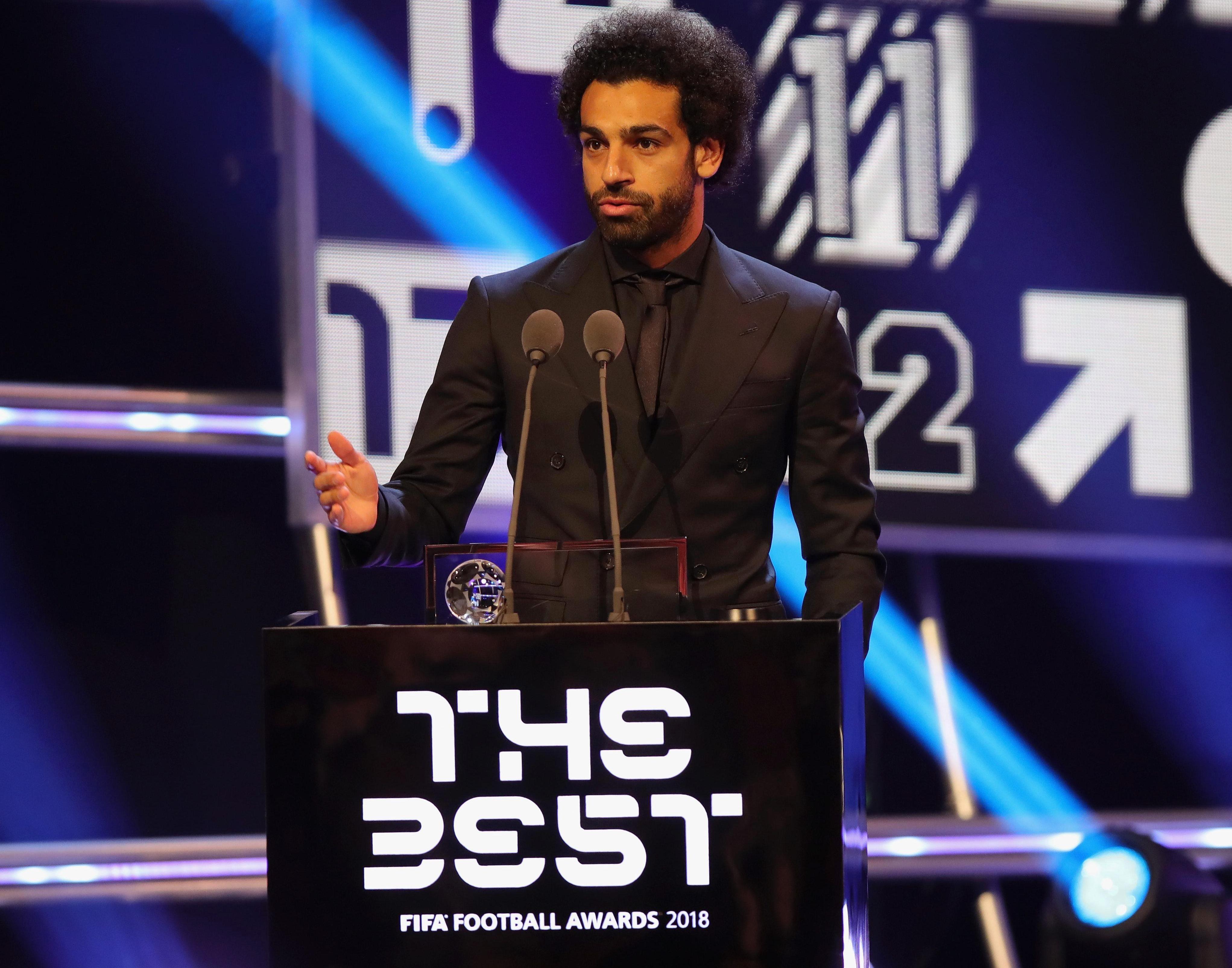 A reminder that Salah's fourth best goal of last season won the Puskas Award