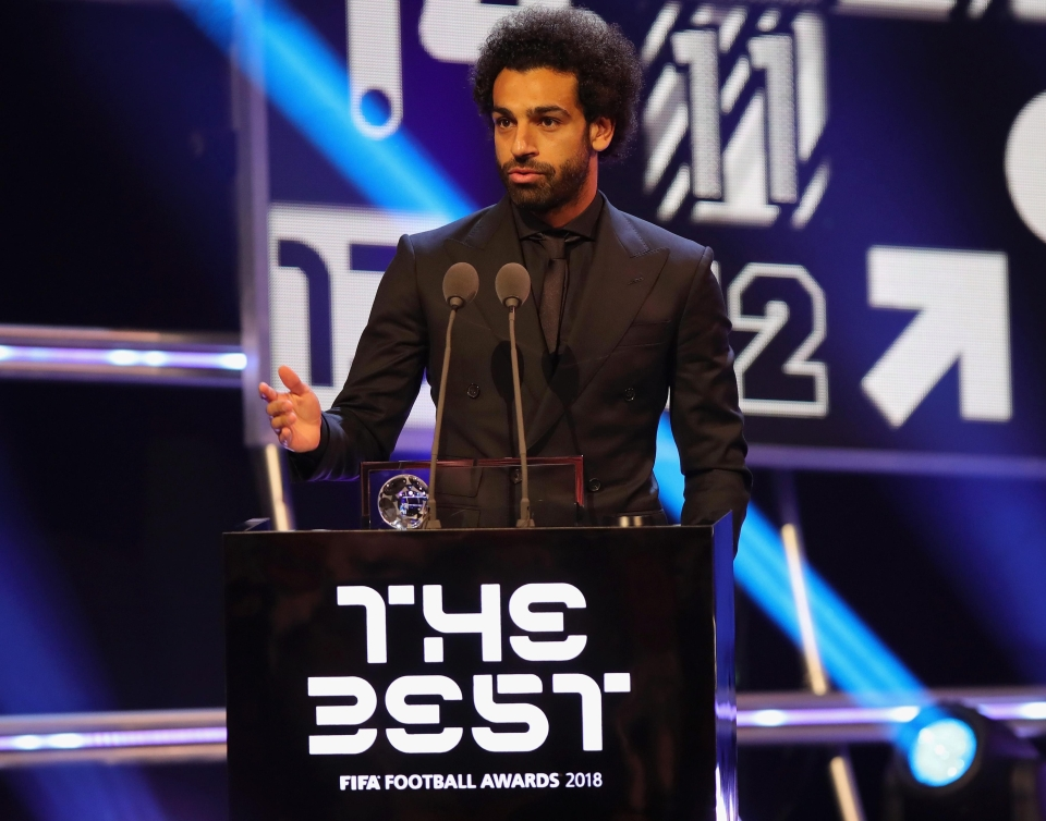 A reminder that Salah's fourth best goal of last season won the Puskas Award