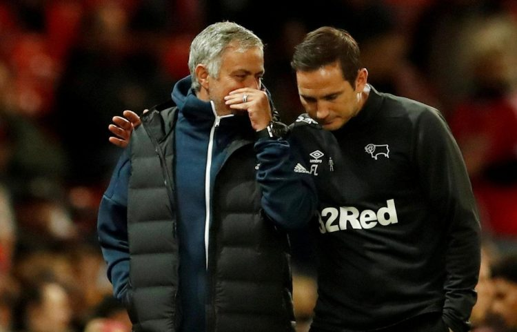 Frank Lampard's Derby have already knocked out Mourinho's Man United.