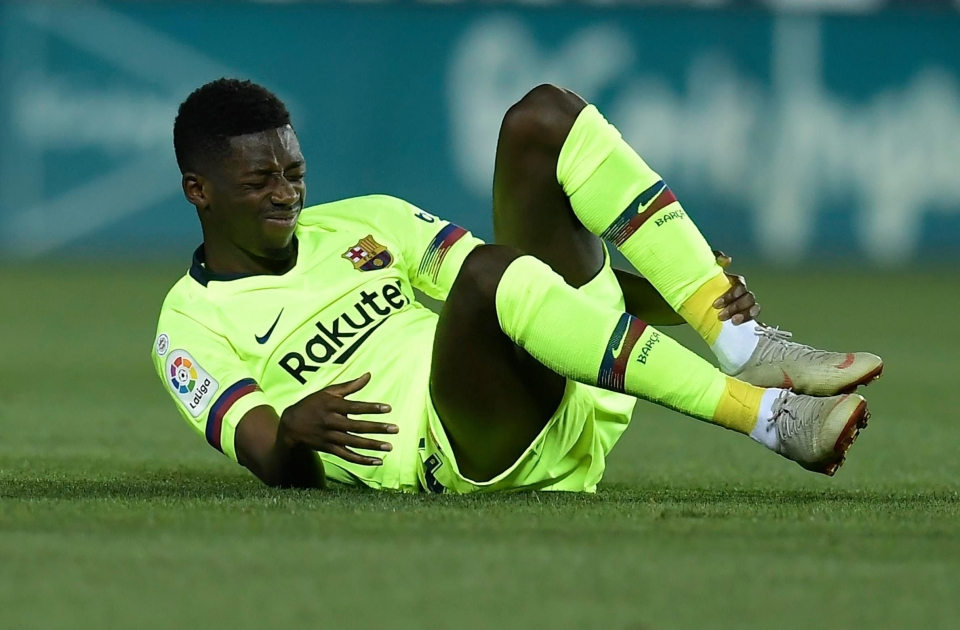 Dembele has struggled to settle after moving to the Nou Camp in the summer of 2017