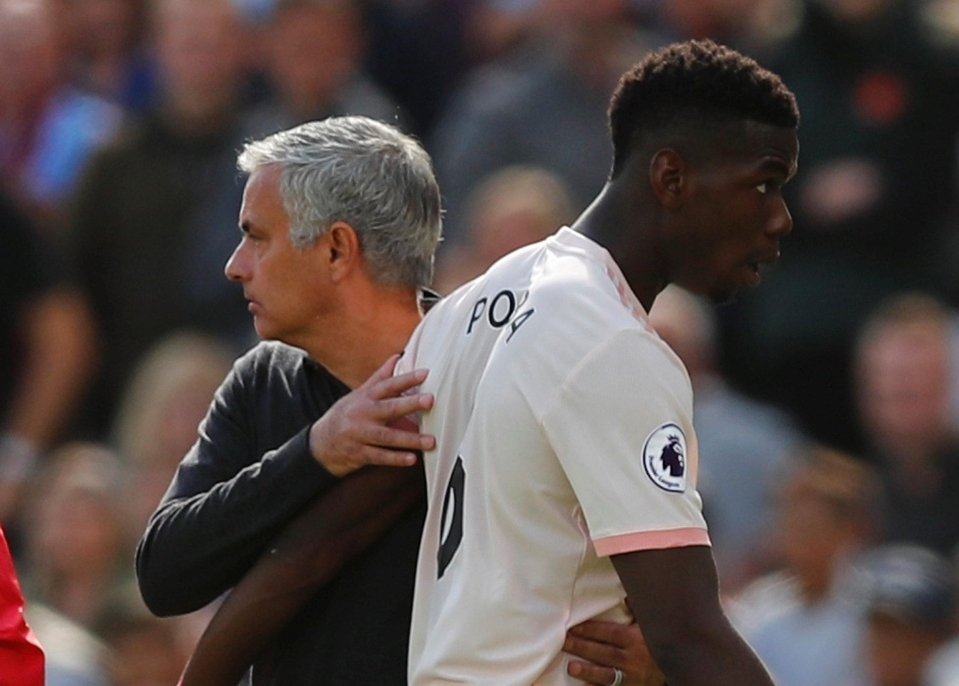 Relations between Mourinho and Pogba have been tested