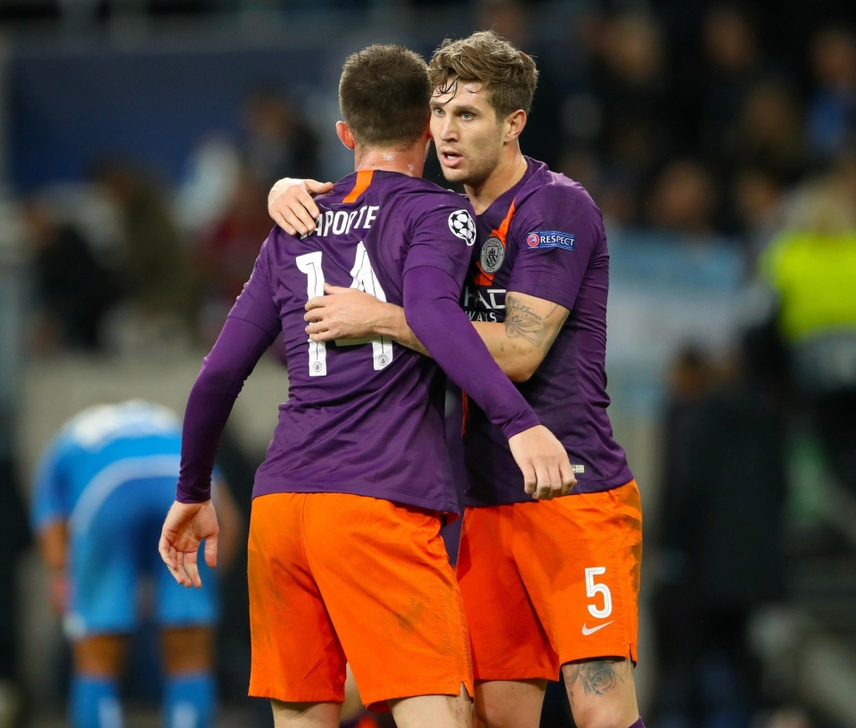 Could this be City's centre-back partnership for years to come?