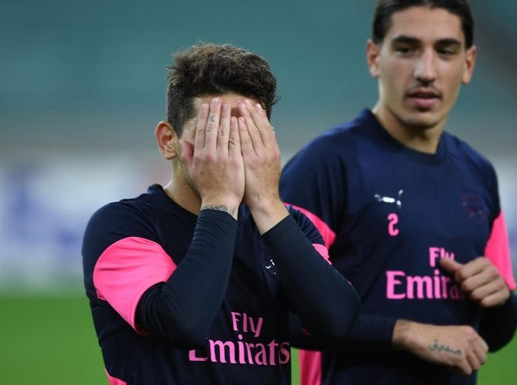 Ozil is invisible whether you cover your eyes or not Lucas