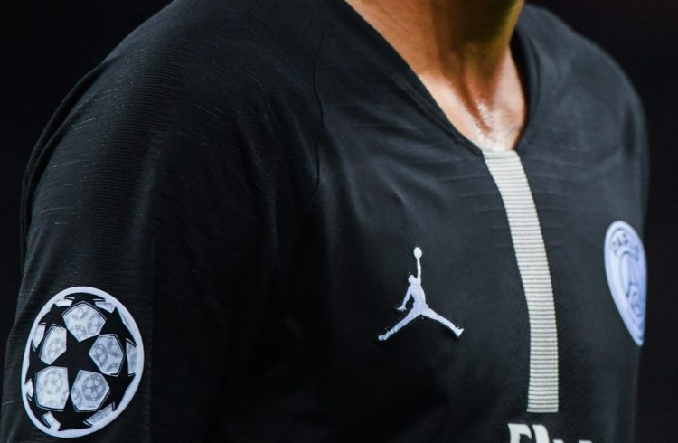 Style over substance… Jordan's brand on the PSG shirt