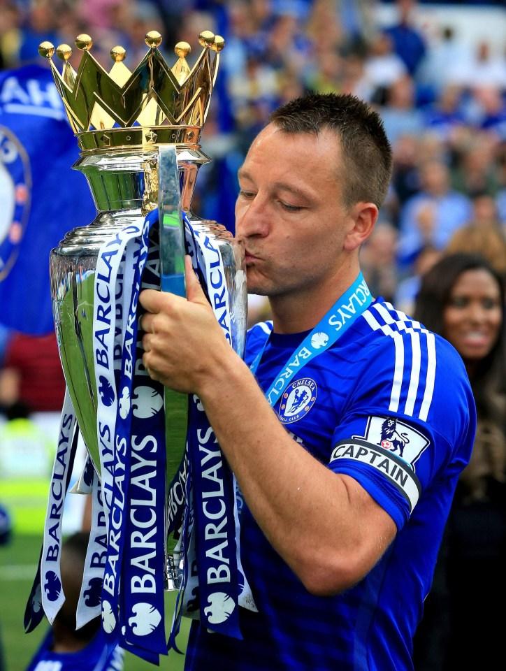 Five-time Premier League champion