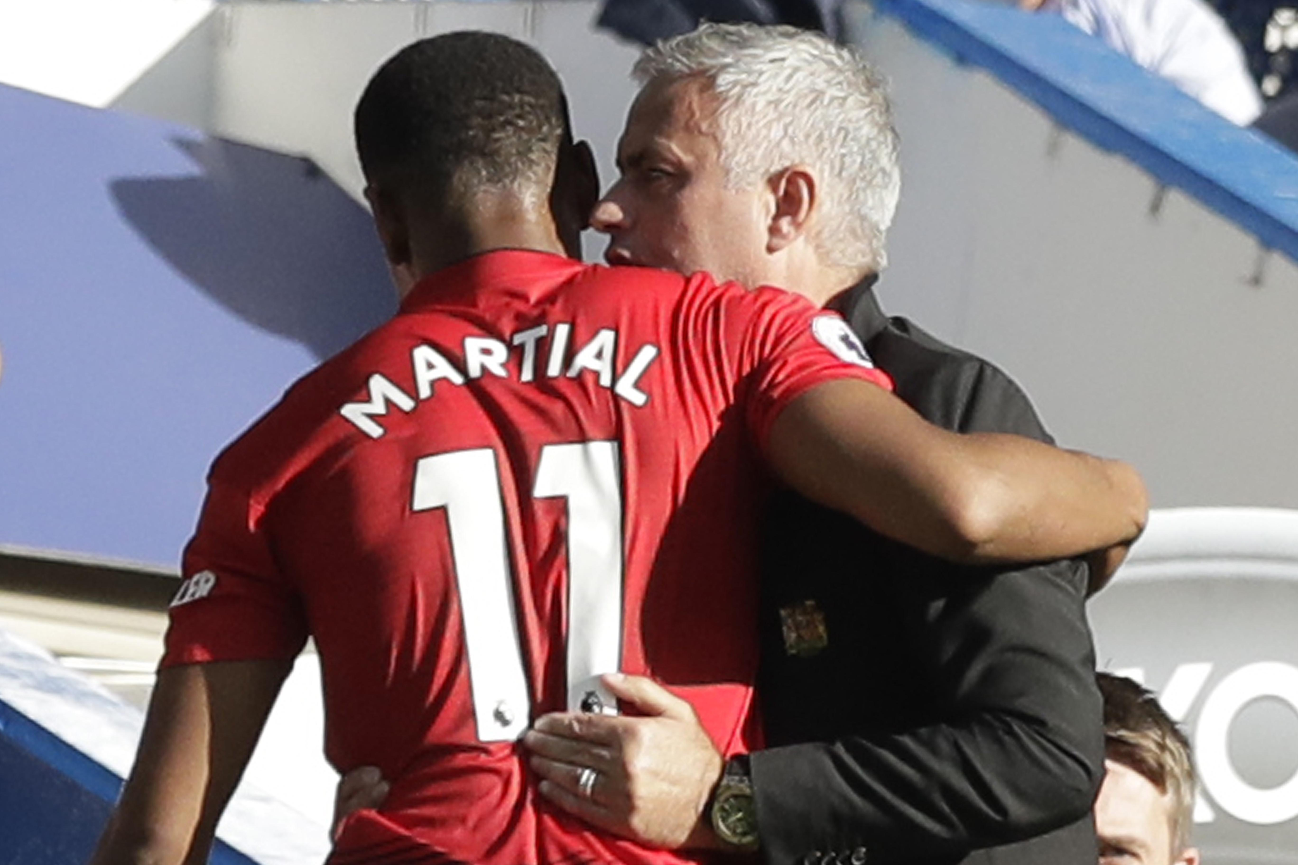 Mourinho seemingly wanted to offload the youngster in the summer