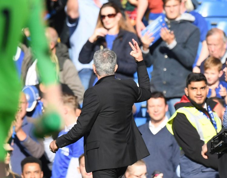 How many times have you lost at the Bridge with United, Jose?