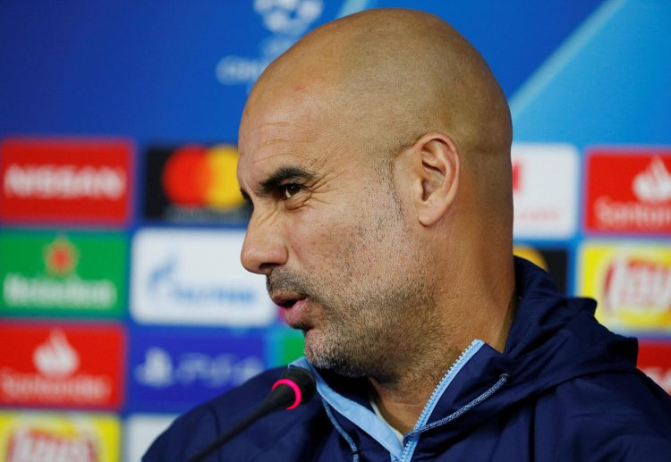 Pep's reaction when we tried explaining it to him