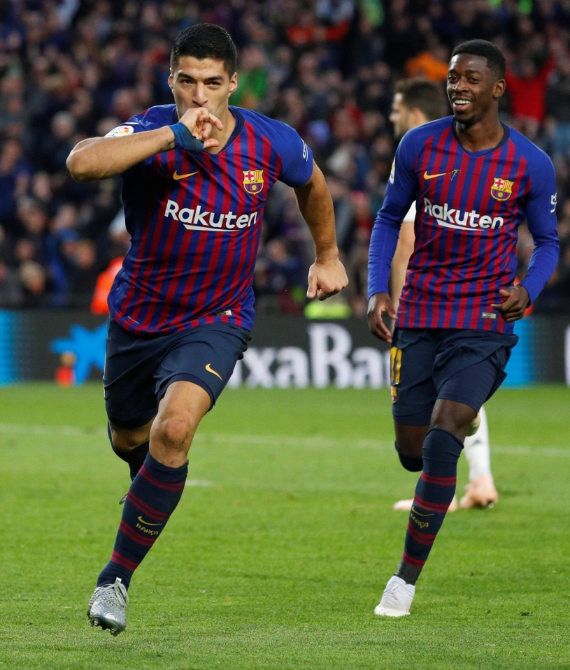 Dembele started El Clasico on the bench but replaced Philippe Coutinho with quarter of an hour left