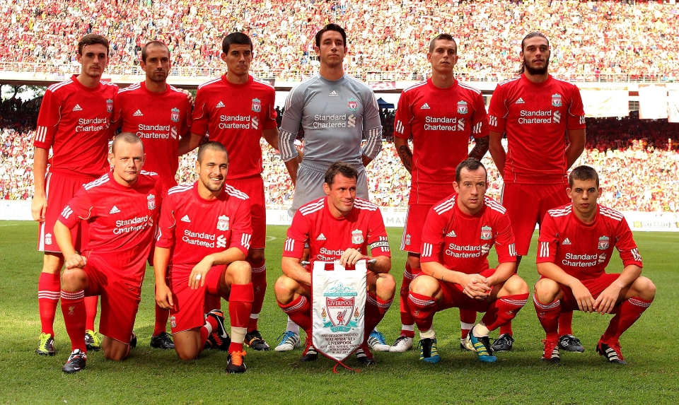 This was an actual Liverpool team