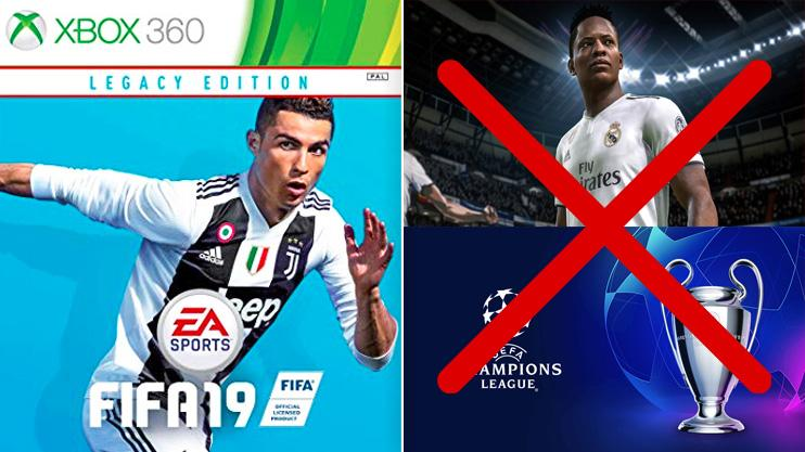 eba143630dc FIFA 19: The Xbox 360 and PS3 versions have no features but cost an arm and  a leg
