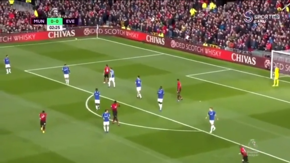 The strike comfortably went out for a corner