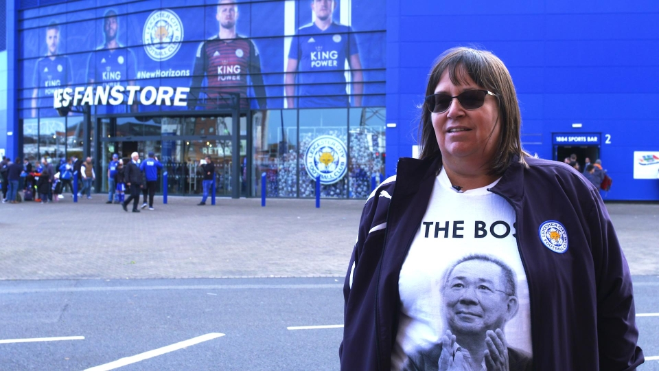 Diane wore one of the commemorative shirts given out to those who made the trip to Cardiff last weekend
