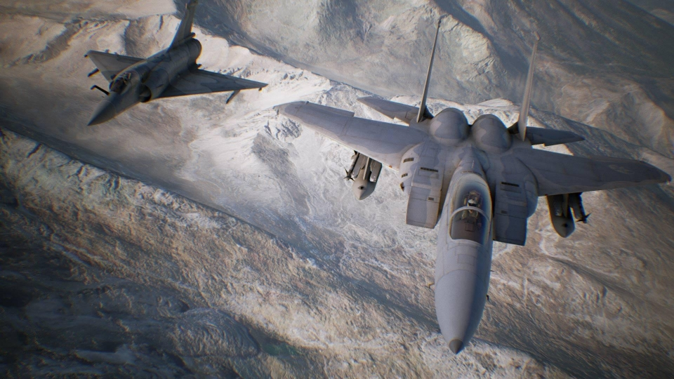 Top Gun fans will love Ace Combat – especially with VR
