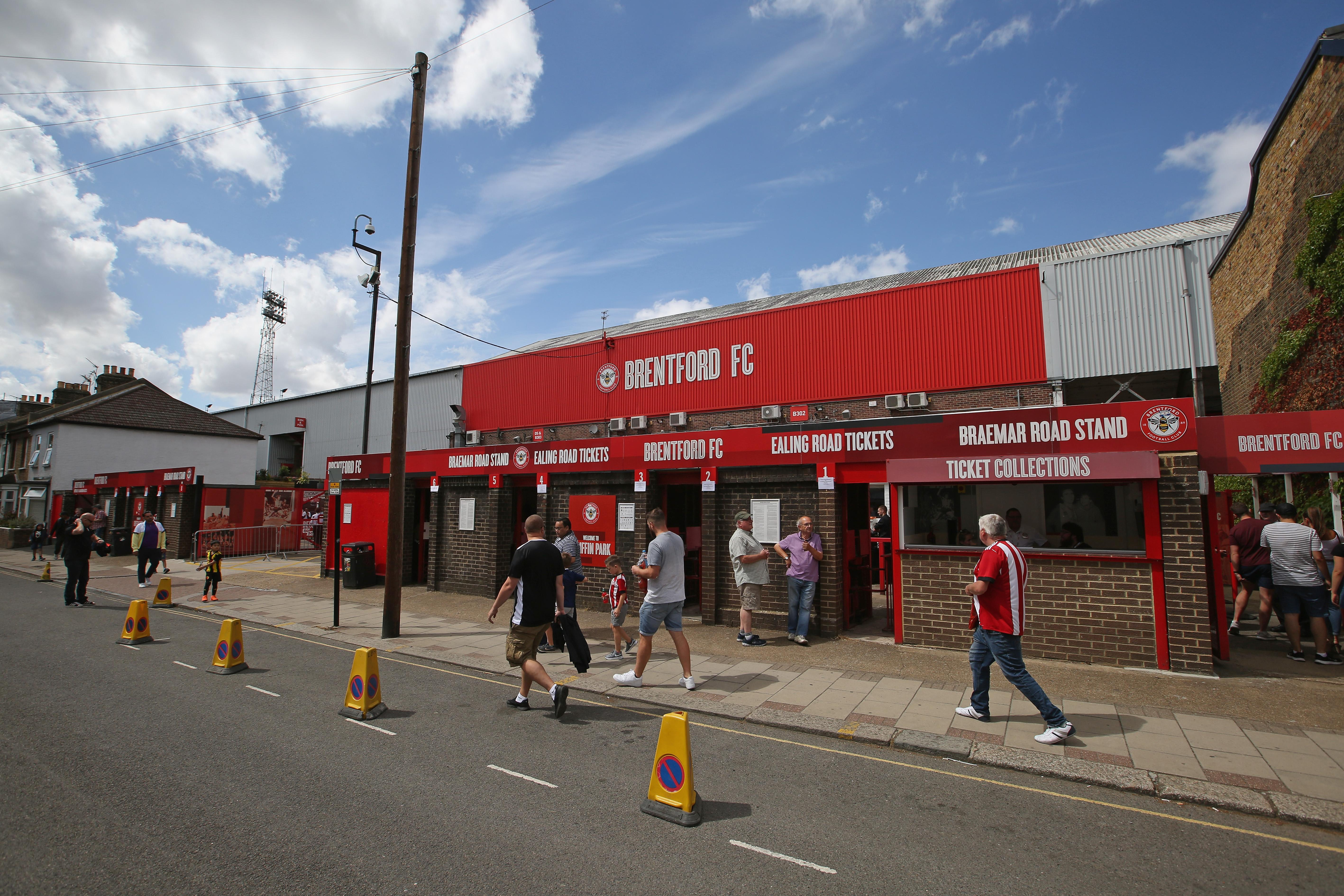Griffin Park in all it's glory