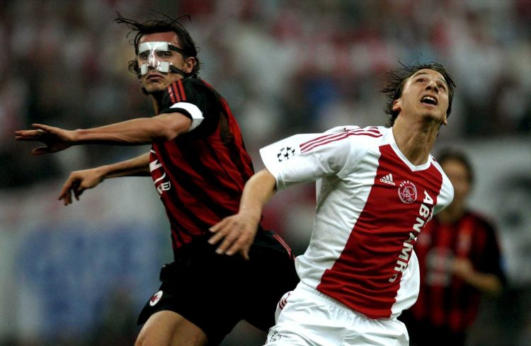 Zlatan faced Nesta in his Ajax days