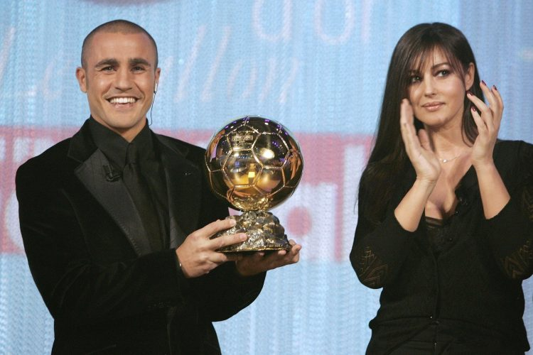 Cannavaro is the only defender since 1976 to win the Ballon D'or