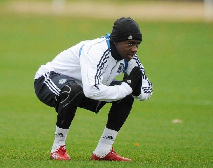 Kakuta praying for his Chelsea career