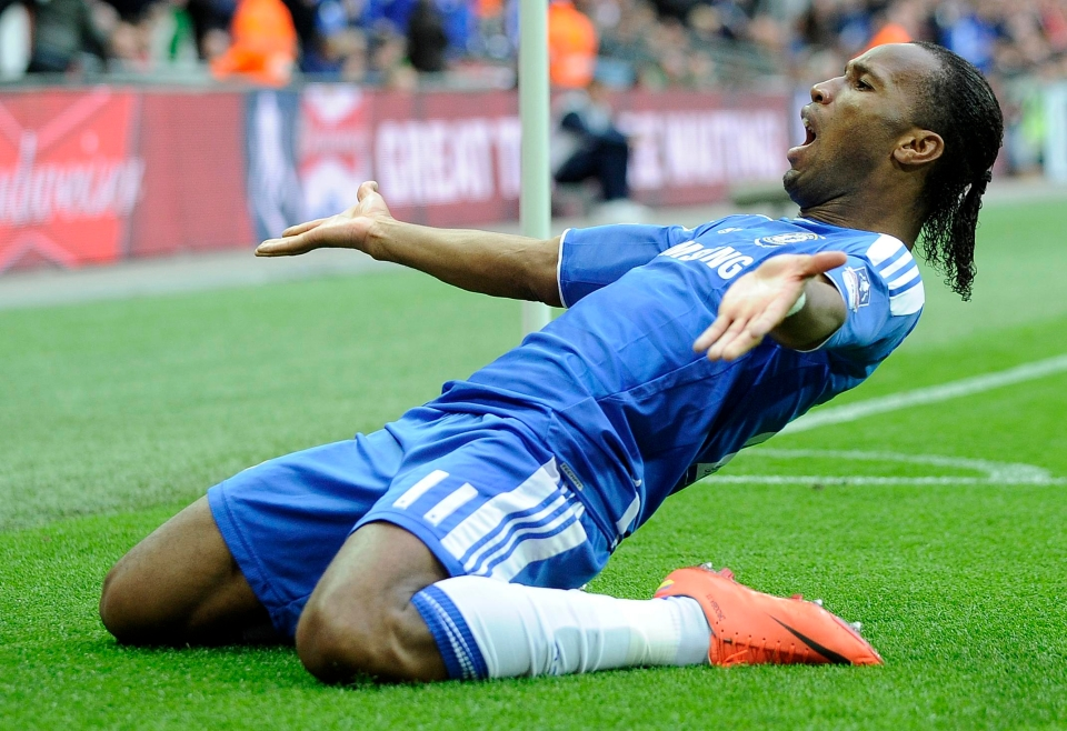 No non-Spurs player has scored more goals at the new Wembley than Drogba