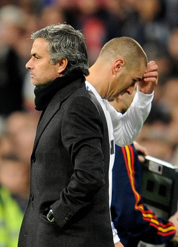 That's a loving embrace as far as Jose is concerned