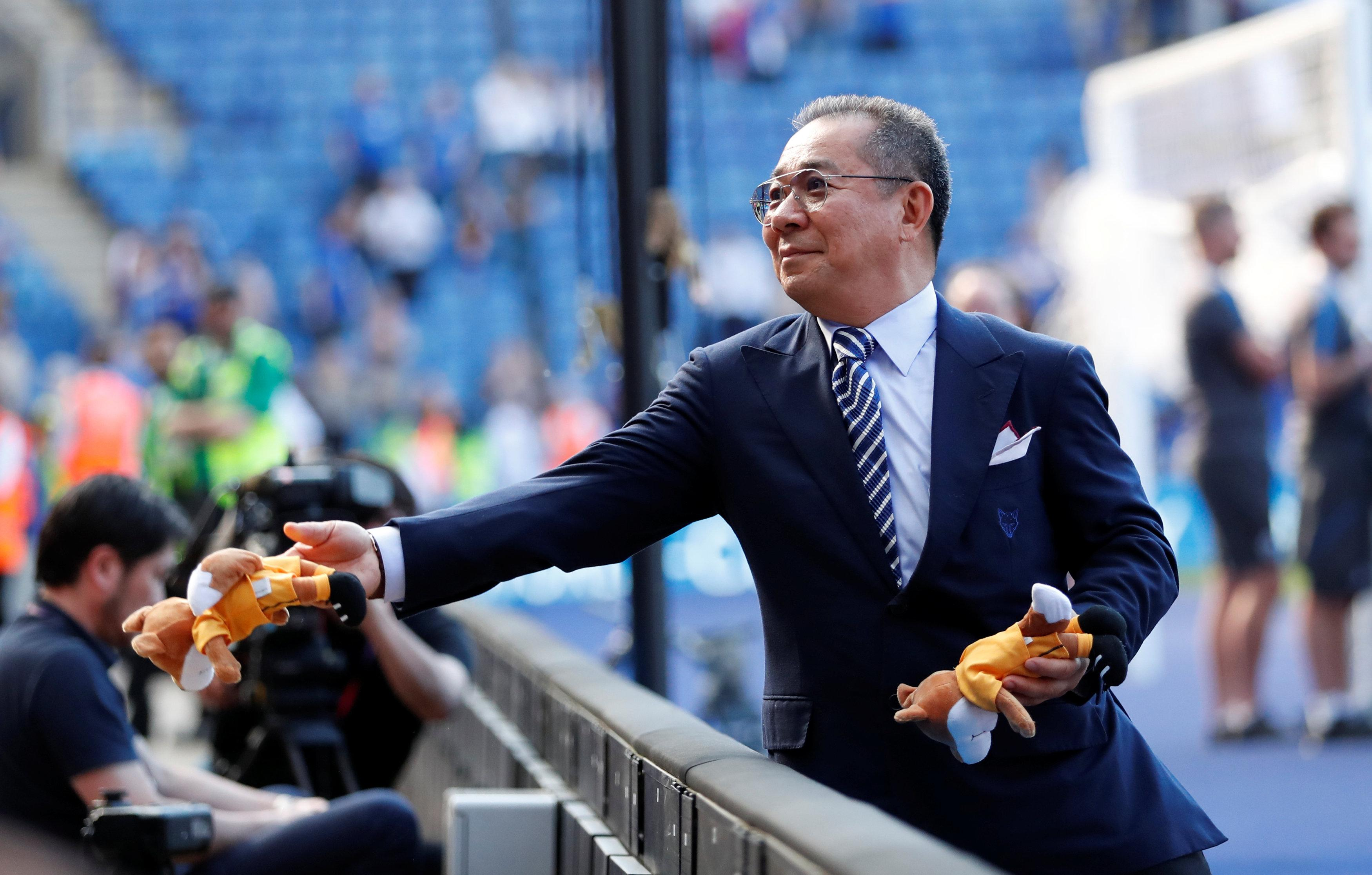 Vichai's generosity meant that fans were often given free gifts