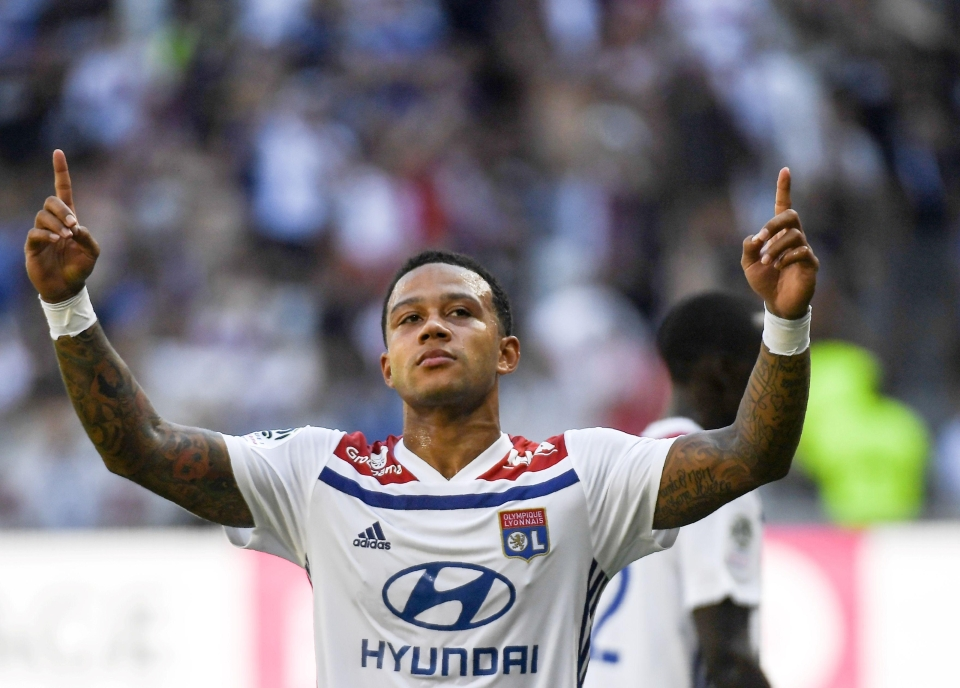 Ligue 1 has become Depay's playground