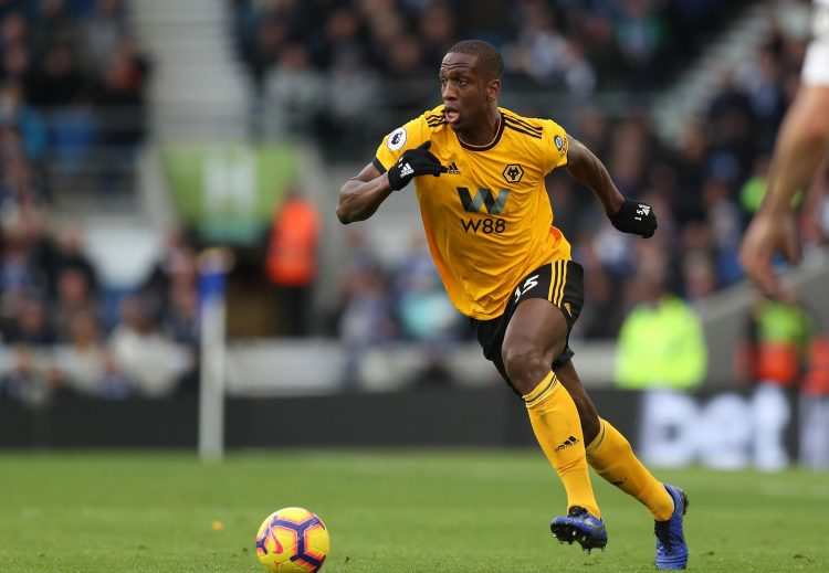 The French defender is enjoying a good season at Molineux