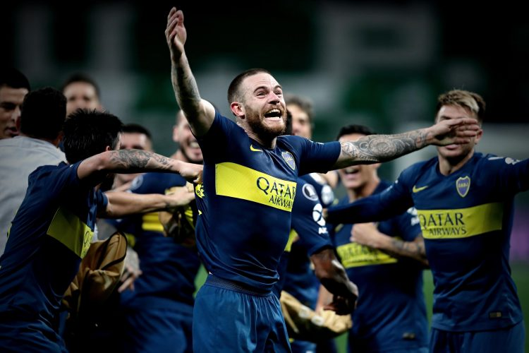 Scenes when Boca reached the final