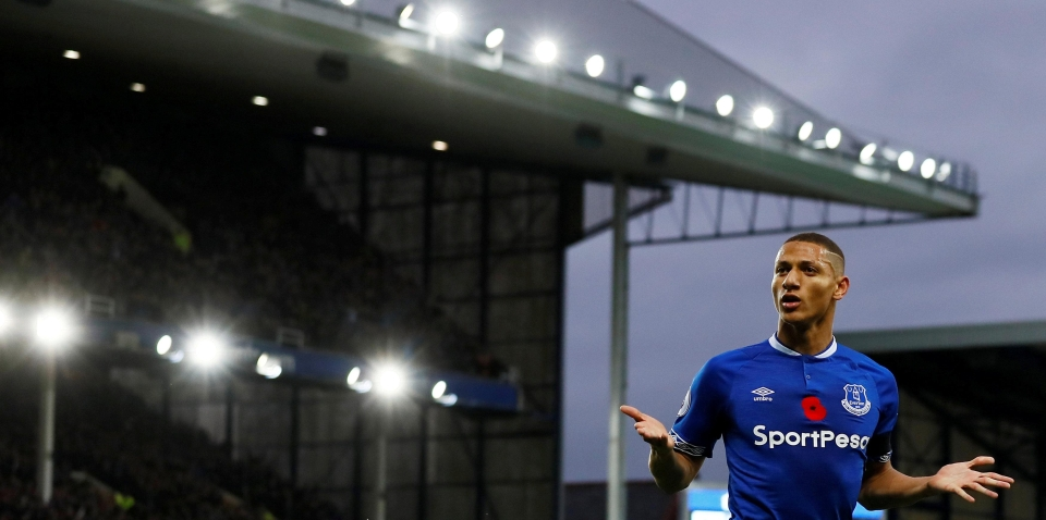 Will we see Richarlison playing in Everton's game at Chelsea this Sunday?
