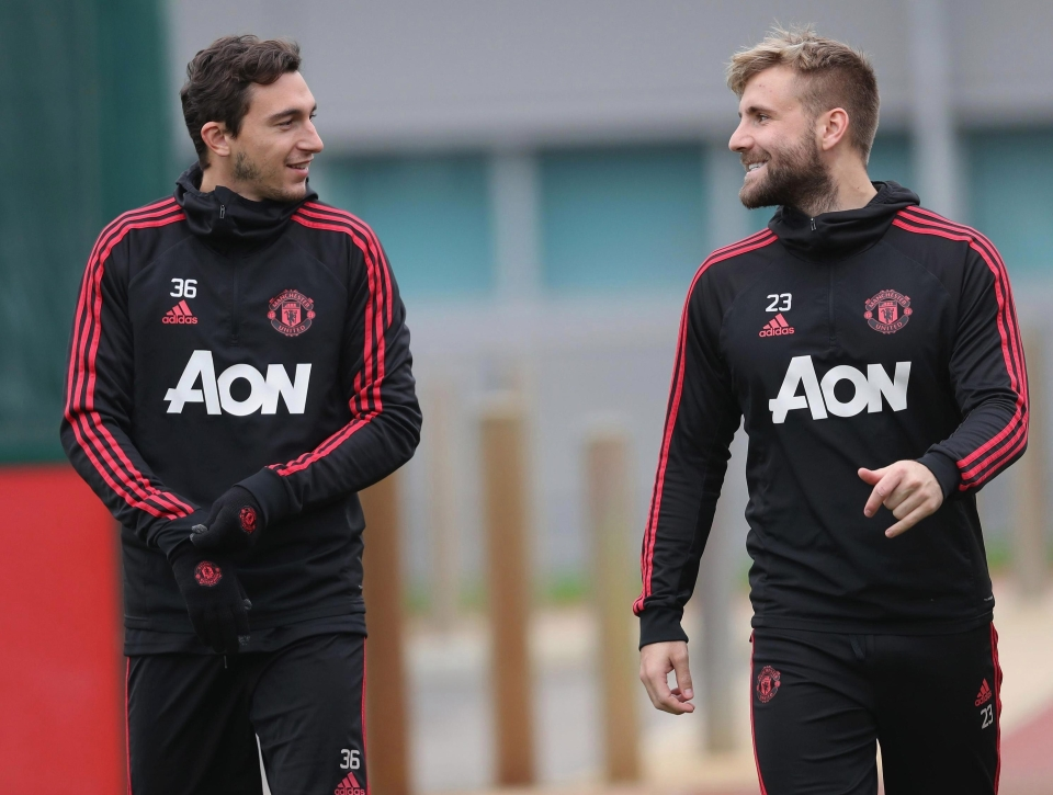 Matteo Darmian has been linked with a return to Italy
