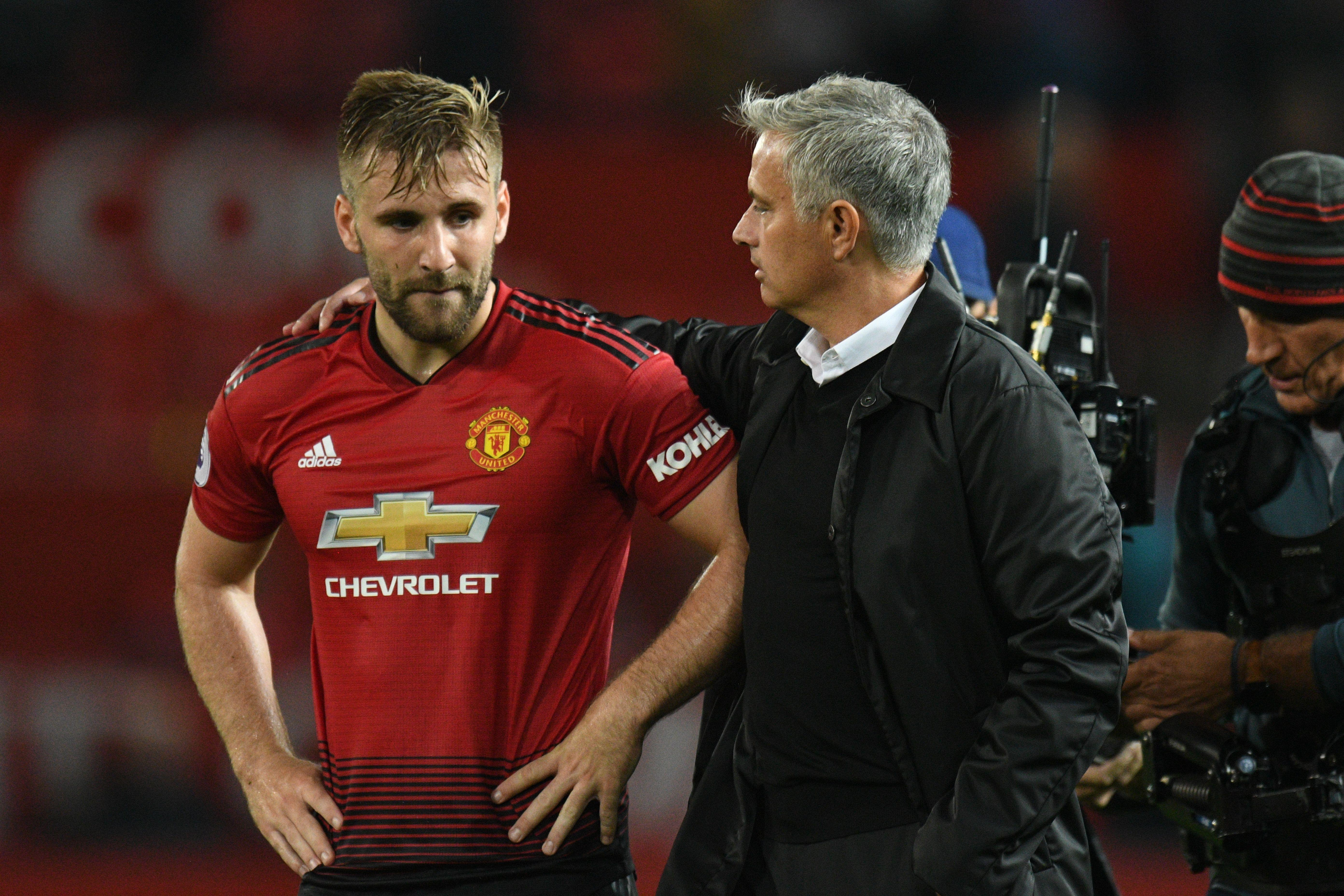 Luke Shaw's fine form has been one of the highlights of United's campaign