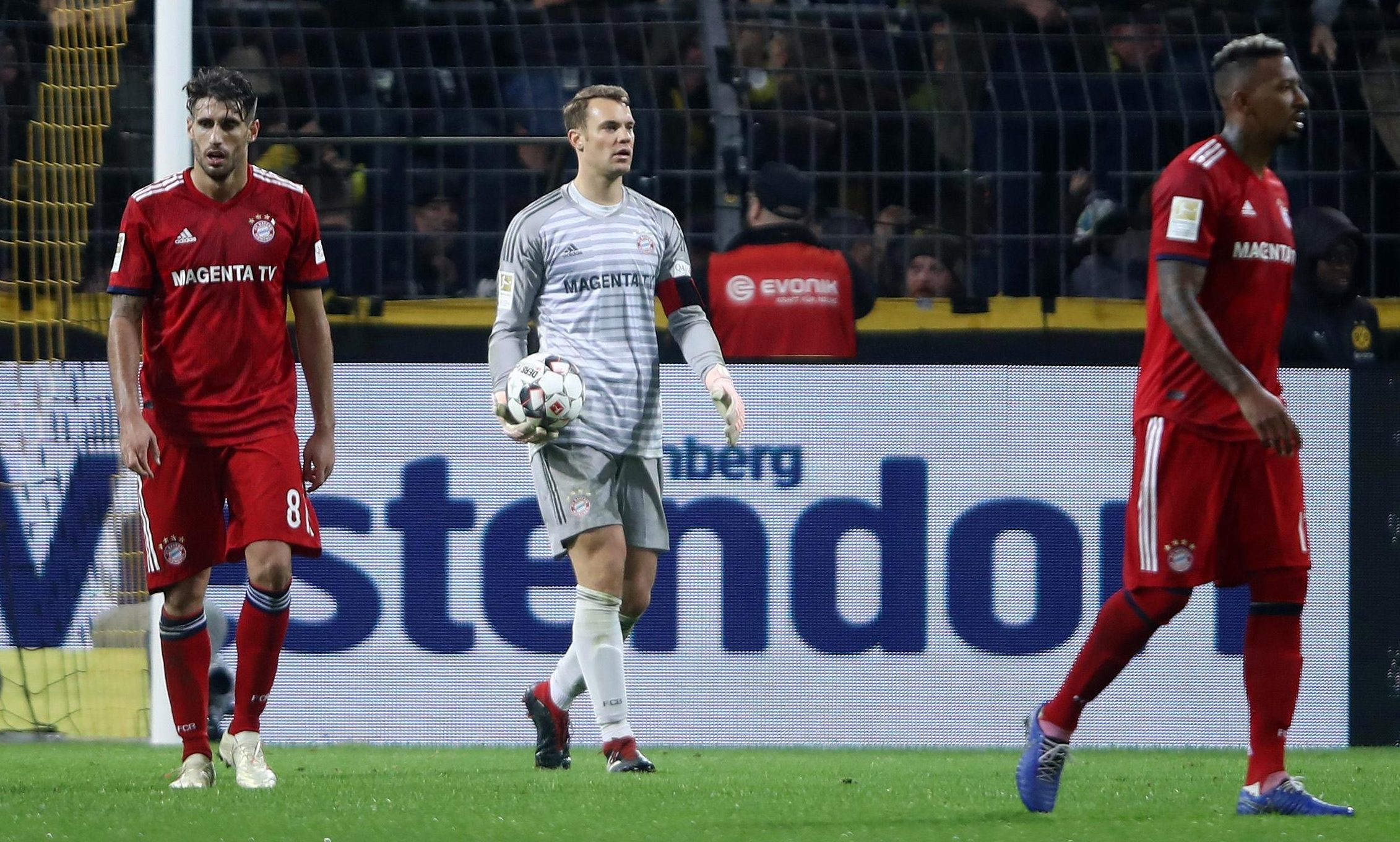 Its not just Bayern's goalkeeper who's looked poor