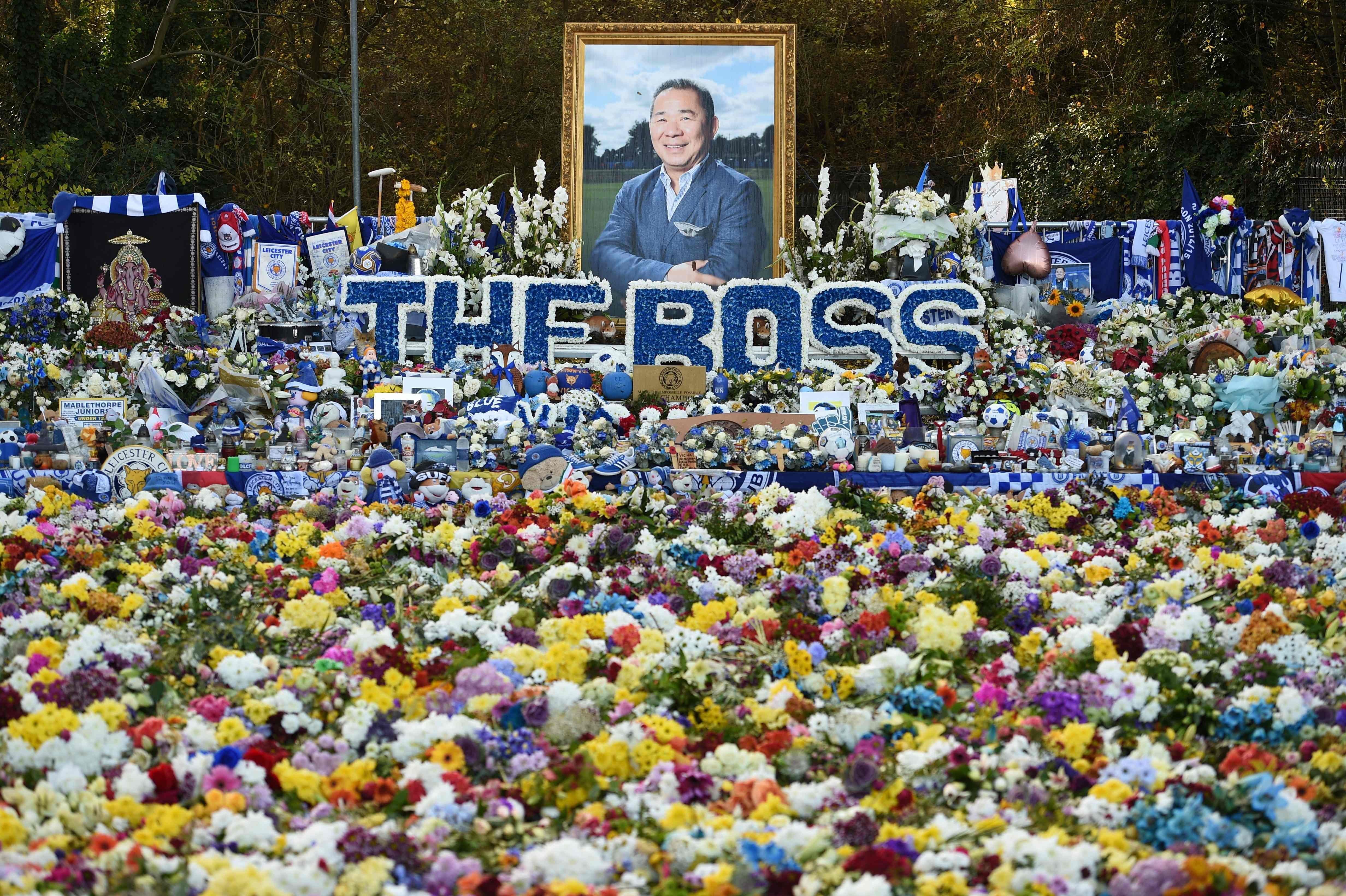 A fitting tribute to the Thai owner