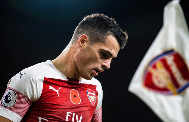 The Swiss is enjoying his best form at Arsenal