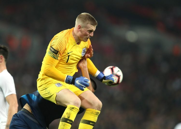 Pickford certainly has his own style